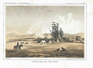 1860-USPRR-Victor-039-s-Camp-Hell-Gate-Ronde