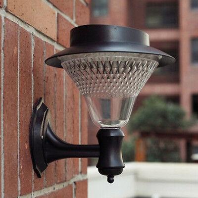 16 LED Outdoor Solar Power Path light Yard Wall Fence Lawn Garden Landscape Lamp