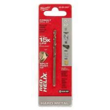Milwaukee Red Helix Twist Drill Bit Cobalt Alloy 135 Split Point Tip 532 Inch
