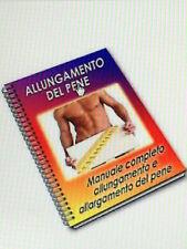 MANUALE EBOOK GUIDA ALLUNGAMENTO e ALLARGAMENTO del PENE ESERCIZI MANUALI