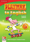 Playway to English Level 3 Pupil's Book: Level 3 by Herbert Puchta, Gunter Gerngross (Paperback, 2009)