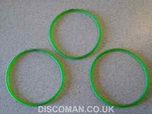 Pack of 3 Candy Floss Machine (100mm internal diameter x 4mm) drive belts