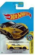 2017 Hot Wheels #80 HW Speed Graphics '15 Mazda MX-5 Miata