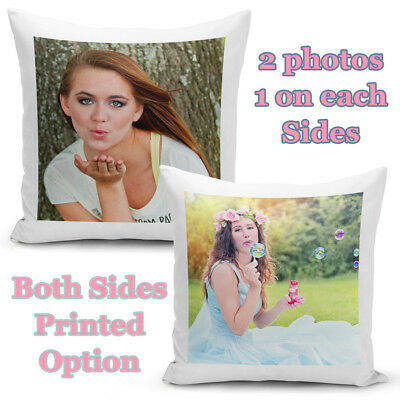 Personalised Cushion Cover Collage Soft Pillow Cover Case Both Side Printed