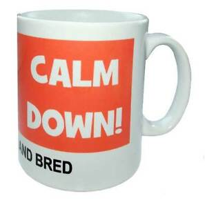 Calm Down Calm Down Scouser Born and Bred Mug - <span itemprop='availableAtOrFrom'>Sheffield, South Yorkshire, United Kingdom</span> - Calm Down Calm Down Scouser Born and Bred Mug - Sheffield, South Yorkshire, United Kingdom