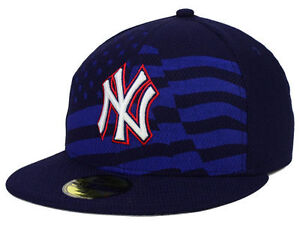 88ff378dbc9f4 Official MLB 2015 New York Yankees July 4th New Era 59FIFTY Fitted ...