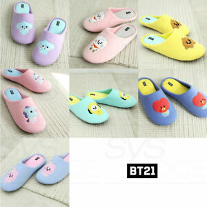 BTS-BT21-Official-Authentic-Goods-Baby-Indoor-Slipper-By-Narahome-Tracking-Num