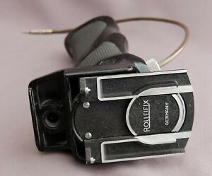Vintage-Rolleiflex-Rolleifix-TLR-camera-grip-with-quick-release-amp-cable-release