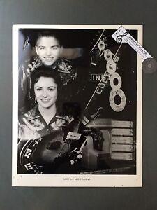 Original-1950-039-s-8-x-10-Publicity-Photo-The-Collins-Kids-Rockabilly-Great-Shot