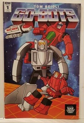 GO-BOTS 1 LCSD 2018 LOCAL COMIC SHOP DAY VARIANT NM