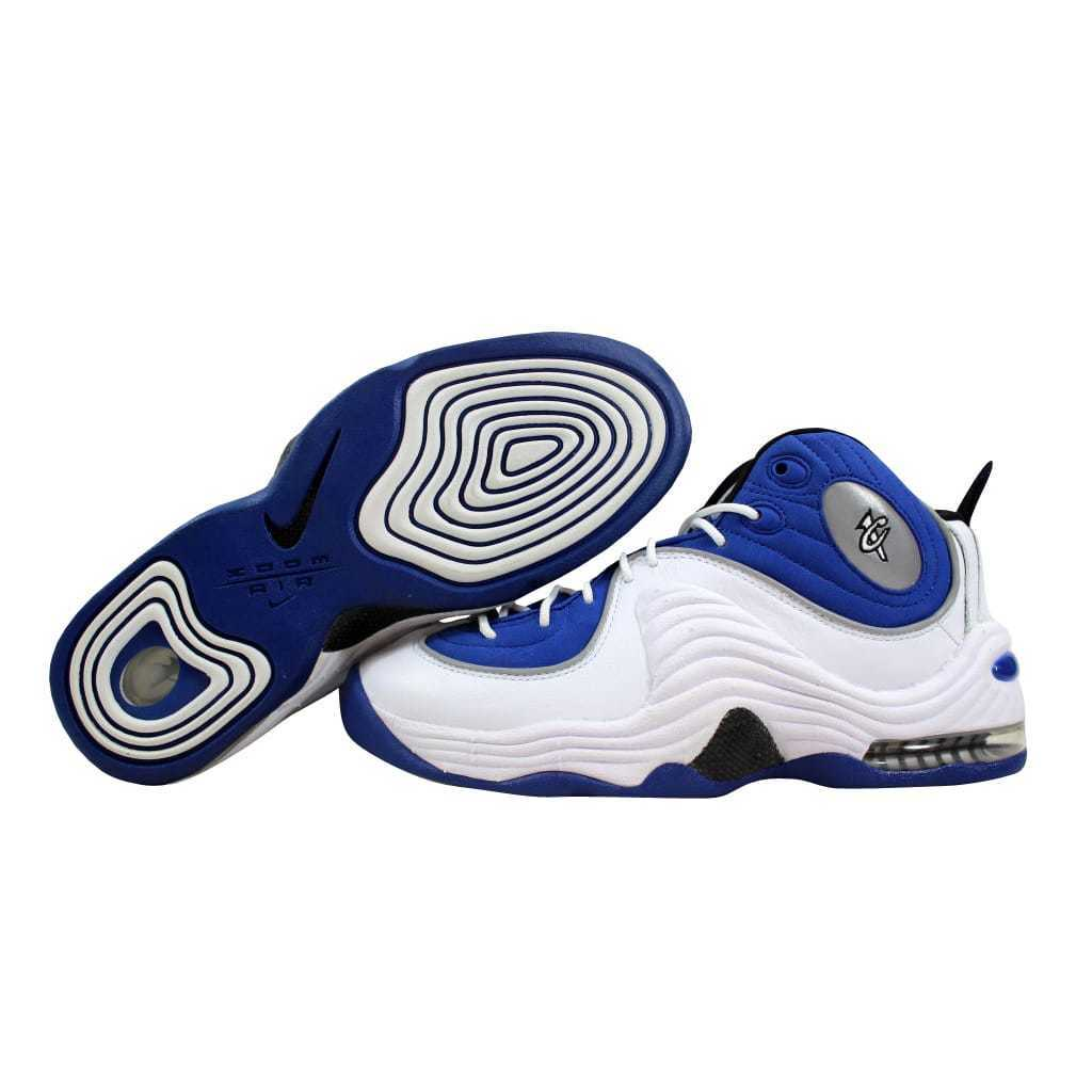 Nike Air Penny II 2 College bluee Black-Metallic Silver 333886-400 Men's SZ 7.5