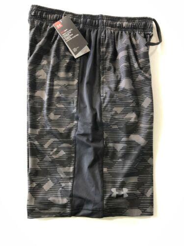 Under Armour UA MEN/'S SZ Medium Loose Athletic Training Shorts Black 1291322 004