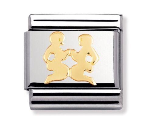 Nomination Charm Zodiac Gemini RRP £18