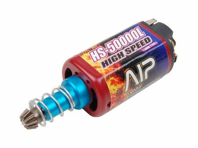 AIP HS50000 High Speed Motor lungo for Airsoft AEG Ver.2 Gearscatola M series G3 L85