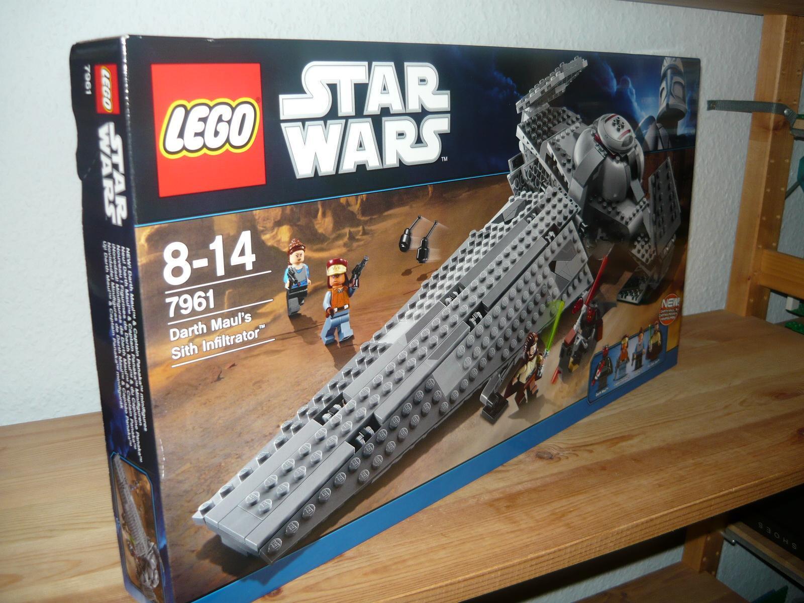 Lego STAR WARS 7961 Darth Maul´s Sith Infiltrator von 2011+OVP/NEU--NEW--