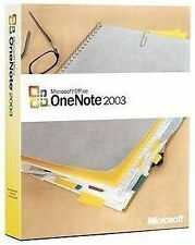 Microsoft Office ONENOTE 2003 Brand New, Factory Sealed