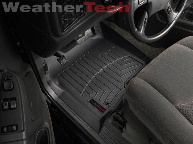 WeatherTech DigitalFit FloorLiner - 2002-2006 - Chevrolet Avalanche - Black