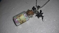 Enchanted Fairy Dust Necklace Pendant, Gift ,Tinkerbell, Keepsake Easter,Party