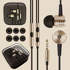 Mi PISTON DESIGN HANDSFREE HEADPHONE EARPHONE BLACK WITH MIC & VOLUME BUTTONS