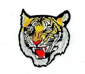 Toppe-Patch-toppa-ricamate-termoadesiva-moto-biker-tigre-tiger-animali
