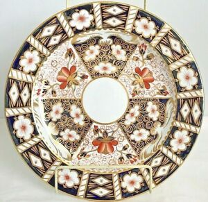 RARE-ROYAL-CROWN-DERBY-2415-TRADITIONAL-IMARI-12-INCH-CHOP-PLATE-ROUND-PLATTER