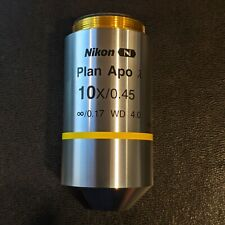 Nikon Plan Apo Lambda 10x045 Ofn25 Dic N1 Objective Cn Mrd00105