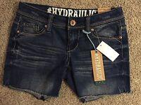 Hydraulic Junior Girls Bailey Low Rise Shorts Size 1/2 Hydraulic $40