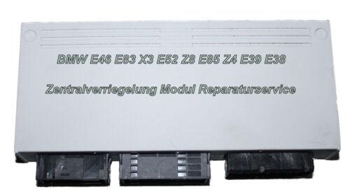 BMW E83 X3 Zentralverriegelung ZV Grundmodul Steuergerät GM5 Reparatur Service