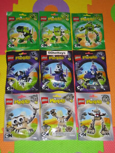 LEGO-MIXELS-Series-3-CARTOON-NETWORK-COMPLETE-SET-OF-9-PACKS-NEW