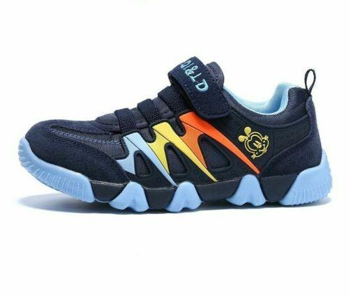 Genuine Leather Sneakers Girls Boys Shoes School Sport Running Kids Footwear