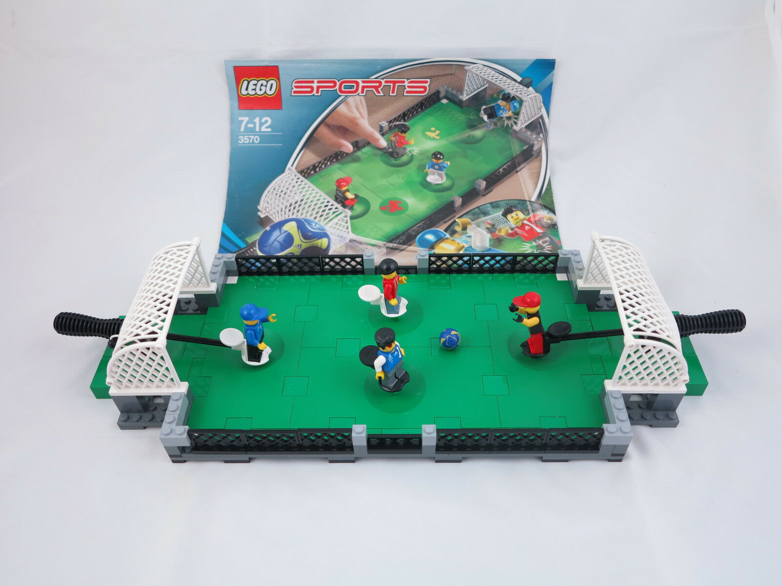 LEGO 3570 Sport-Fussball + original Bauanleitung ( 82)