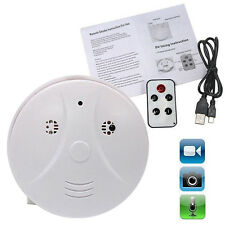 Mini HD Smoke Detector SPY Hidden Camera DVR Motion Detection Video Recorder