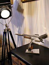 Plano De Aire Plano De Plata Grande Escritorio Ornamento Estatua Regalo Inusual Estatuilla De Lujo