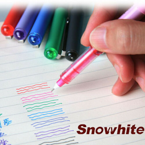 Kids Office School Colorful Refills Markers Watercolor Gel Pen Replace Supplies