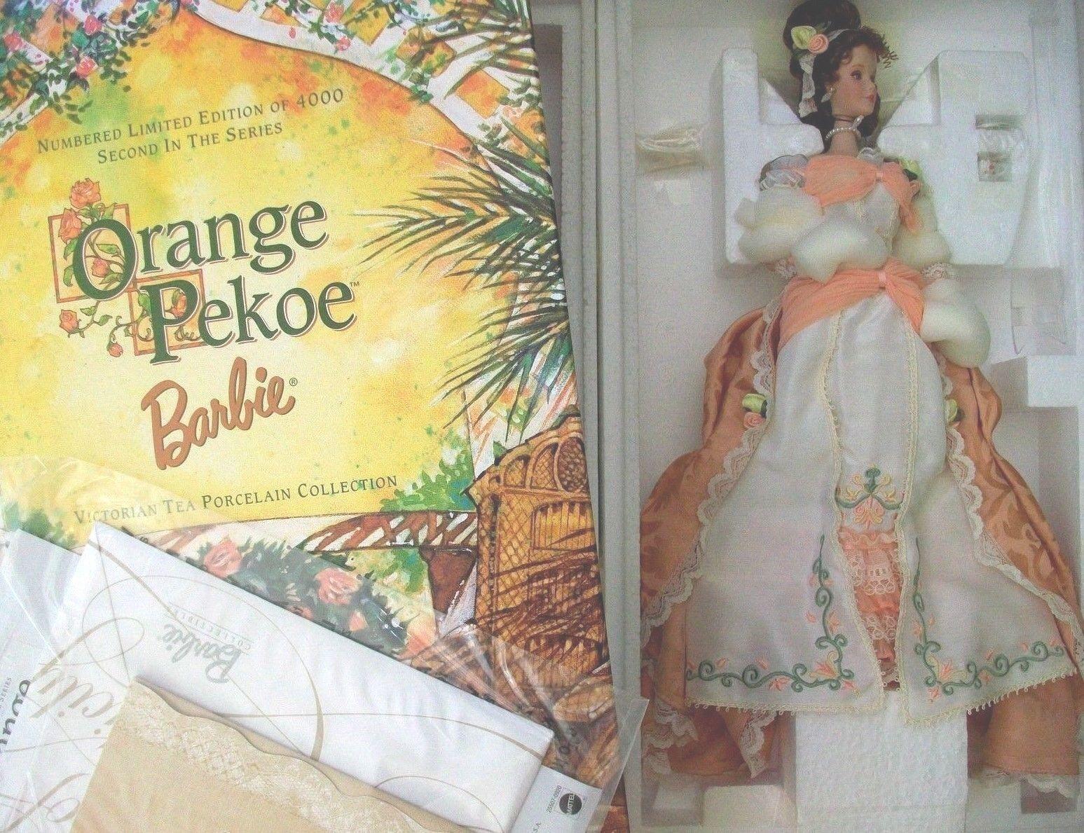 Orange Pekoe Barbie Victorian Tea Porcelain 2000