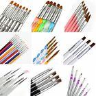 Nail Art Pen Brush UV Gel Acrylic Painting Drawing Tip Liner Polish Brushes Tool