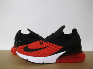 592e83f7868a NIKE AIR MAX 270 FLYKNIT CHILI RED BLACK CHALLENGE WHITE SZ 8-14