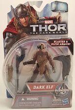 Marvel Thor The Dark World DARK ELF Action Figure ~Blaster & Elfin Armor~ Hasbro