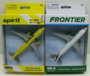 FRONTIER USA AIRLINES DIECAST METAL SINGLE PLANE SPOT JAGUAR USA MODEL AIRCRAFT