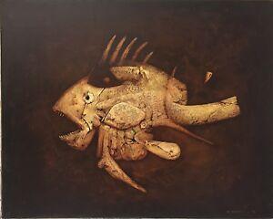 Di-Maccio-Gerard-huile-sur-toile-signee-art-fantastique-surrealiste-visionnaires