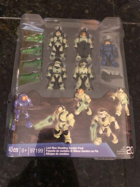 Halo Mega Bloks Last Man Standing Zombie Pack 97199