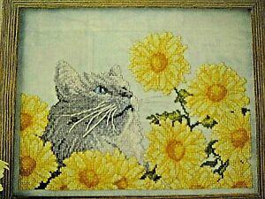 Neo Impressionist Georges Lemmen Daisy Flowers Fan Counted Cross Stitch Pattern