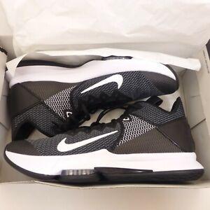 Nike-Lebron-Witness-IV-4-Mens-Size-15-Shoes-BV7427-001-Black-White-Iron-Grey