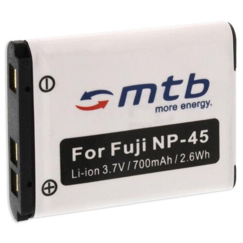 Batteria NP-45 per Fuji Fujifilm Finepix T190 T350 T360 T400 T410 JZ100 JZ110