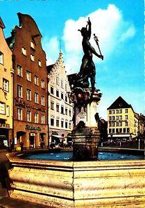 Augsburg-Merkurbrunnen-Ansichtskarte-ungelaufen