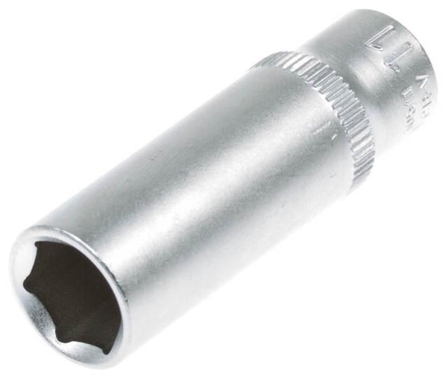 Steckschlüssel SW 11 mm 1/4 Zoll Werkzeug Kfz Stecknuß Außen Sechskant lang Nuss
