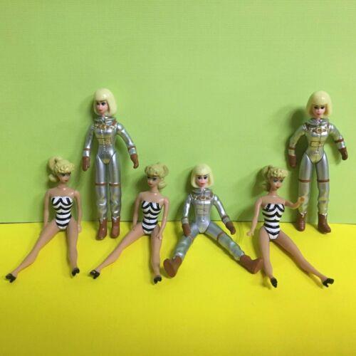 6X World/'s Smallest Barbie 1959 Retro Astronaut Barbie Action Figure Toys