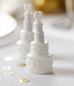 Seifenblasen Hochzeitstorte (12 Stück) Tischdekoratio<wbr/>n Gastgeschenk Hochzeit