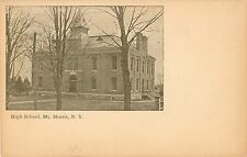 An Early View of the High School, Mt Morris 1903 PMC