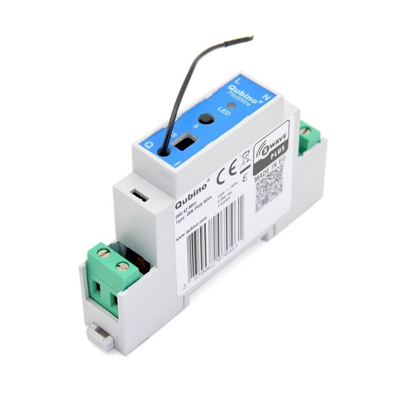 Qubino Z Wave Plus Din Module Pilot Wire Zmnhud1 Ebay